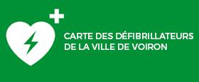 Les défibrillateurs installés à Voiron