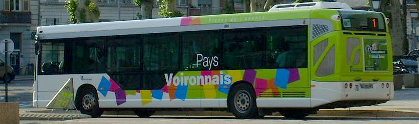 les bus du pays voironnais