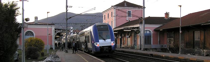 Gare SNCF de la ville de Voiron